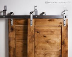 diy closet barn doors overlapping - Google Search