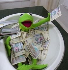 Stream money better B by New_Kid__Of_Dope from desktop or your mobile device Cute Memes, Funny Cute, Dankest Memes, Funny Memes, Sapo Kermit, Sapo Meme, Frog Meme, Kermit The Frog, Meme Template