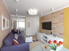 Перепланировка 2-х комнатной квартиры хрущевки 44 кв. м.