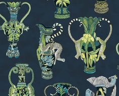 Ardmore Cole   Son Khulu Vase Wallpaper Design. Wallpaper Online e4db1ec016