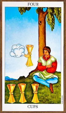 Four of Cups - Tarot Card Meaning & Interpretation