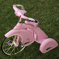 Pink Princess Tricycle : Pedal Power Cars at PoshTots. Wicked cute