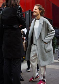 wonderful smile, awesome coat!