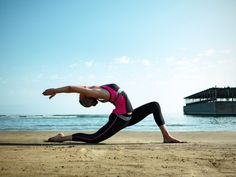 Jumeirah Bilgah Beach Hotel, Baku - Sports Travel -Talise Fitness - Outdoor Yoga