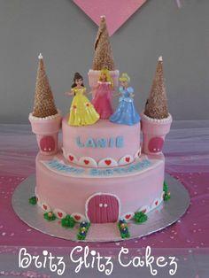 Princess cake I made for friends little girl :)