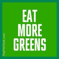 Eat your veggies! #health #nutrition #diet #nutrition #wellness #thefittchick