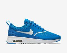 NEW!! Swarovski Nike Blue Nike Air Max Thea Blinged with SWAROVSKI® Crystals