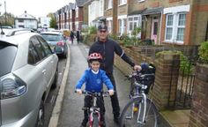 Great advice from Sustrans' School Officer on getting out and about on your bike and cycling safely to school with children