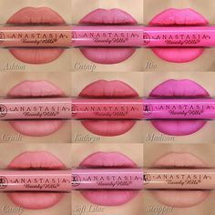 anastasia beverly hills spring liquid lipsticks
