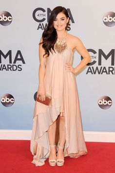 CMA's red carpet: Lucy Hale