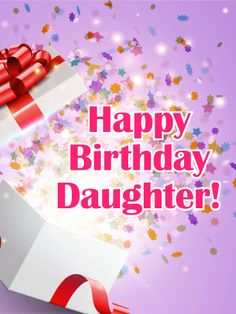 Happy Birthday Card For Daughter Start Your Daughters Off Right