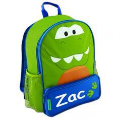 Dino the Dinosaur Personalised Backpack