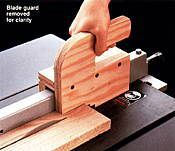 14 Push Block Plans + 11 Push Stick Plans: Save Your Paws from Table Saws! |