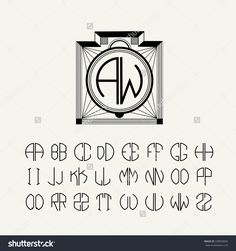 23 best art deco logos images on pinterest art deco logo brand