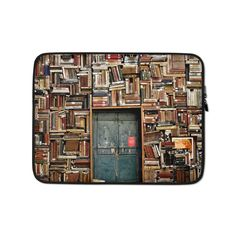 This lightweight, form-fitting Books 1655783 Laptop Sleeve is a must-have for any laptop owner on the go. Hat Embroidery Machine, Poly Bags, Sleeve Designs, Laptop Case, Order Prints, Laptop Sleeves, Biodegradable Products, Bubbles, Books