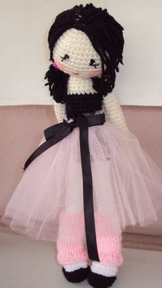 """Holly; this looks like a similar pattern you used for my """"Wednesday"""" doll. Do you think you could make something like this for Shayla?"""