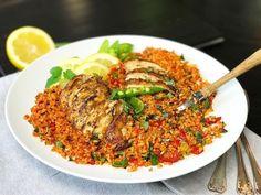 4-5 portioner Ingredienser: 500 Ratatouille, Risotto, Ethnic Recipes, Food, Recipes, Bulgur, Essen, Meals, Yemek