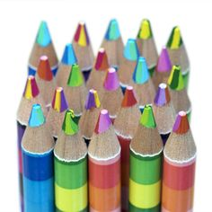 The Yoobi Color Stripe Pencils Put Art In Heart This Valentines Day Bring To Someones Life By Gifting Them With These 4 Pack Multicolor