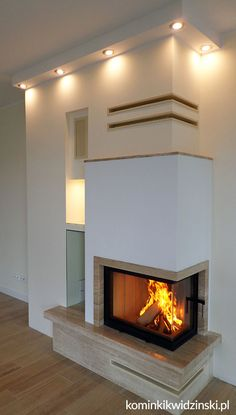 Home Fireplace, Fireplace Remodel, Modern Fireplace, Fireplace Design, House Extension Design, House Design, Backyard Patio Designs, House Extensions, Home Interior Design