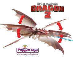 Figura CloudJumper Power Dragón Como entrenar a tu Dragón 2 BIZAK ...