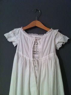 Vintage dress for girls via Petits petits tresors