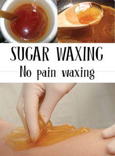 Sugar Waxing � No pain waxing