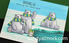 Color an Ice Fishing Pond – MFT Polar Bear Pals ADD LINK