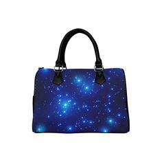 Starry night Boston Handbag (Model 1621). Great Gifts For Mom, Jewel Box, Bag Making, Jewels, Tote Bag, Boston, Shoulder Bags, Night, Model