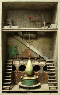 mysterious tiny rooms...Marc Giai-Miniet