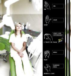 Deaf-mute #patient . #stomatolog #stomatologwrocław #dentystawrocław #yesdent #stomatology
