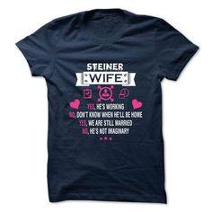 STEINER - my wife - #bridal gift #shirt diy. OBTAIN => https://www.sunfrog.com/Valentines/-STEINER--my-wife.html?id=60505