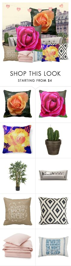 """Make Your Home Bloom #springflorals"" by stine1online ❤ liked on Polyvore featuring interior, interiors, interior design, home, home decor, interior decorating, John Lewis, Lexington and springflorals"