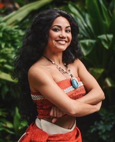 Moana at Disney! I finally got to meet her and was not disappointed!! @Willytheartist