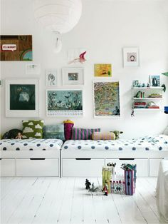 great kids beds with storage Great way to have a spare bed for sleepovers
