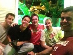 Domingo - Revista Viva - Caio, Bernardo, Douglas, Michell, Vitor - 21/10/12