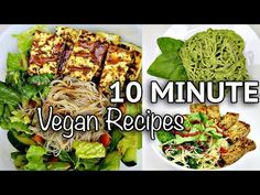 (35) EASY VEGAN NOODLE RECIPES FOR LAZY DAYS (10 MINUTE RECIPES) - YouTube