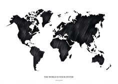 The world is your oyster by mhmp.se