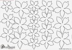 Рождественская звезда ПУАНСЕТТИЯ из бумаги. Шаблоны и мастер-класс (14) (700x492, 191Kb)