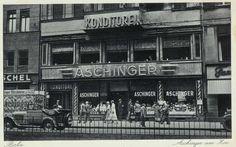 1936 Aschinger am Zoo-Konzert Kaffee & Konditorei,Berlin
