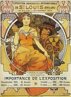 A51 Exposition Universelle & Internationale De St. Louis, 1903. | Alphonse Mucha