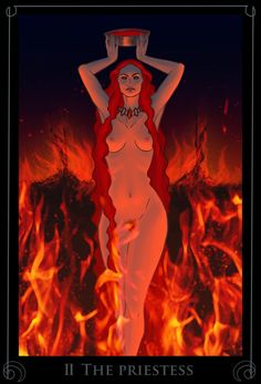 II The Priestess by Nergal8 on DeviantArt