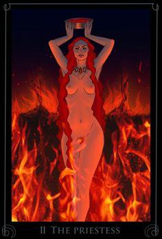 II The Priestess by Nergal8 on DeviantArt