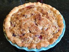Recipe Endeavors: Peach Blackberry Pie the best pie ever!