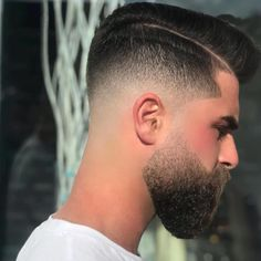 : Best Fade Haircuts And Beard Design Images Collection Hairstyles 2019 hair hairstyles haircut haircolor haircare hairs hairsalon hairstyleideas hairstylesforshorthair hairstylesforshortcurlyhair hairstyleforroundface hairstyleforschool h Best Fade Haircuts, Cool Haircuts, Hairstyles Haircuts, Haircuts For Men, Trendy Hairstyles, Faded Beard Styles, Beard Styles For Men, Hair And Beard Styles, Hair Styles