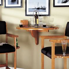 American Heritage Chicago Wall Table - 610005SD