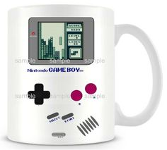 (*** http://BubbleCraze.org - Like Android/iPhone games? You'll LOVE Bubble Craze! ***)  DIY New Nintendo gameboy Ceramic white coffee mug Pokemon cup Personalized Birthday Christmas gifts funny novelty travel mug