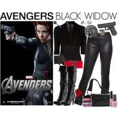 [Outfits inspired by The Avengers] AVENGERS Ensemble | Black Widow