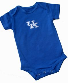 Kentucky Infant Onesie. Son has to be ready for gameday too.
