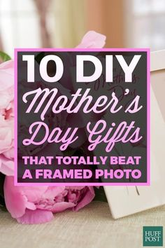 This year, make your mom something a bit more personal for Mother's Day. Here are 10 DIY gifts your mom will love!