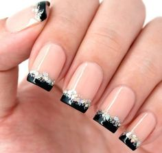 Awesome french manicure designs ideas for women 36